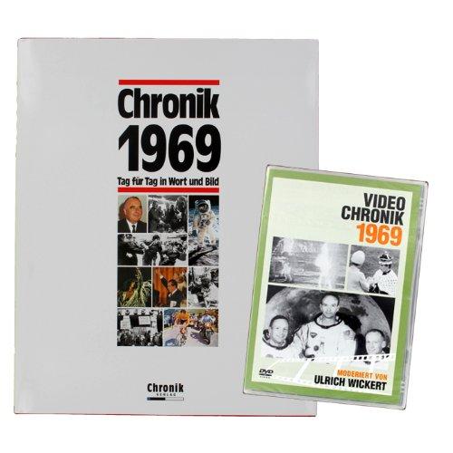 Chronik-Duo 1969, Geschenkset Buchchronik 1969 + DVD Chronik