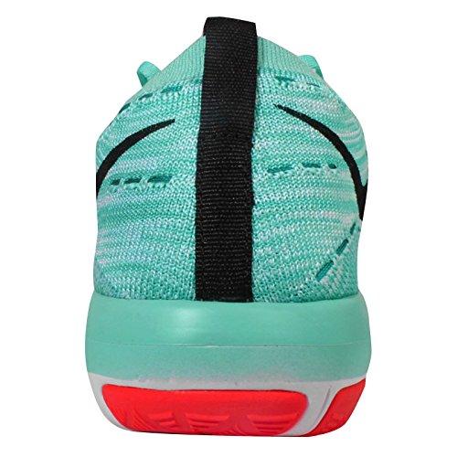 Nike Damen Wm Free Transform Flyknit Turnschuhe Turquesa (Hypr Trq / Blk-Brght Mng-Pch Crm)