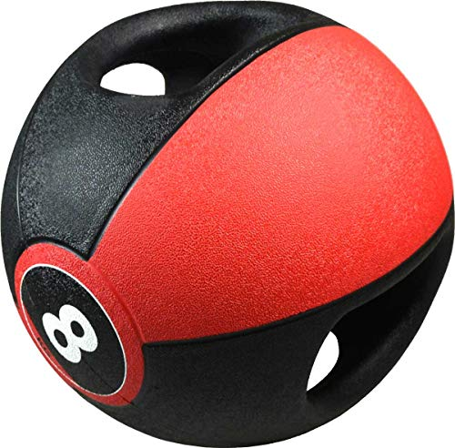 Pure2Improve Balón Medicinal Asas Deportes Fitness