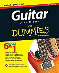 Guitar All-In-One for Dummies: Book + Online Video & Audio Instruction, 2nd Edition