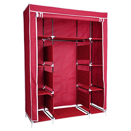 reasejoy-non-woven-fabric-wardrobe-bedroom-closet-clothes-cupboard-hanging-rail-storage-shelves-127x