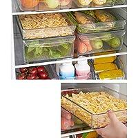 Guilty Gadgets - Organizador acrílico para frigorífico y Verduras sin Tapa, 30 x 20 x