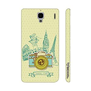 Xiaomi Red Mi 1s Travel Time designer mobile hard shell case by Enthopia