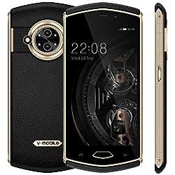 8848 3Go RAM - 32Go ROM Telephone Portable debloqué 13MP Caméra 5.0 Pouces HD+ écran 3200mAh Batterie Smartphone Pas Cher Android 7.0 téléphone Portable Pas Cher sans Forfait SIM 3G+ (Noir)