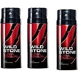 Wild Stone Ultra Sensual Deodorant For Men 150 ML (Pack Of 3)