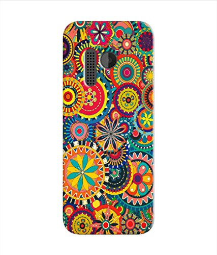 Kaira High Quality Printed Designer Soft Silicon Back Case Cover For Nokia 215 (colorfulpattern)  available at amazon for Rs.199