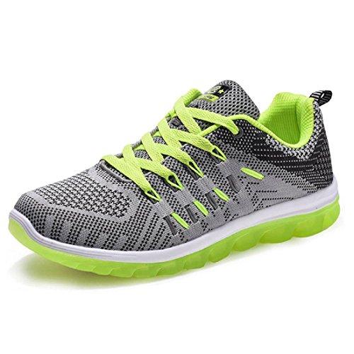 Hommes Chaussures de sport Le nouveau Respirant Augmenté Confortable Entraînement  Chaussures de course blue green Collections