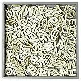 Carrito para bolsa de golf-us alfabeto de madera adornos 250 piezas funda Superior