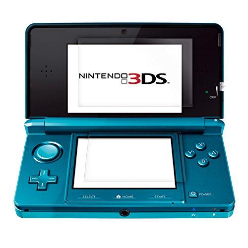 kwmobile Nintendo 3 DS 2X Pellicola - Set pellicole Display Protezione Schermo per Nintendo 3 DS - Senza Bolle d'Aria