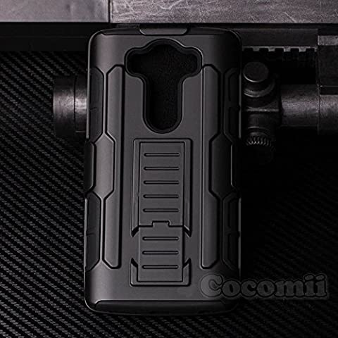 LG V10 Coque, Cocomii Robot Armor NEW [Heavy Duty] Premium Belt Clip Holster Kickstand Shockproof Hard Bumper Shell [Military Defender] Full Body Dual Layer Rugged Cover Case Étui Housse
