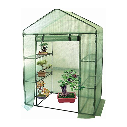 Harbour Housewares Vegetable / Fruit Greenhouse With 4 Shelves & Strong Reinforced Cover