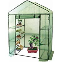 Harbour Housewares Vegetable/Fruit Greenhouse With 4 Shelves & Strong Reinforced Cover