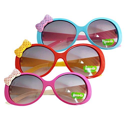MagiDeal 3pcs Kinder-Brille Sonnen-Brille Retror Nerd-Brille Vintage Unisex Kinder Party