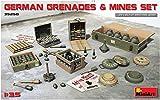 MiniArt 35258 German Grenades & Mines Set Modellbauzubehör, verschieden