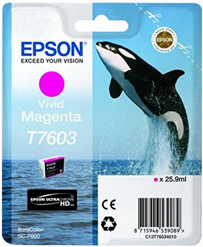epson surecolor p600 Epson T76034010 Tintenpatronen, 26 ml, magenta