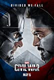 Captain America Civil War Movie Poster 70 X 45 cm