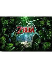 """Póster–Nintendo–Leyenda de Zelda–Forrest nuevo muro art 22""""x34"""" rp10080"""
