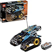 LEGO 42095 Technic Remote-Controlled Stunt Racer Toy, 2 in 1 Race Car Model with Power Functions Motor Buildin