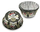 Cupcake Creations BKCUP-8842 Standard Cupcake Baking Cup, Pirates, 32-Pack