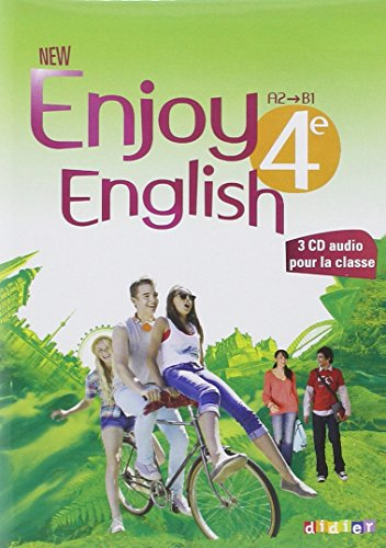 New Enjoy English 4e - Coffret audio vido classe 3 CD + 1 DVD
