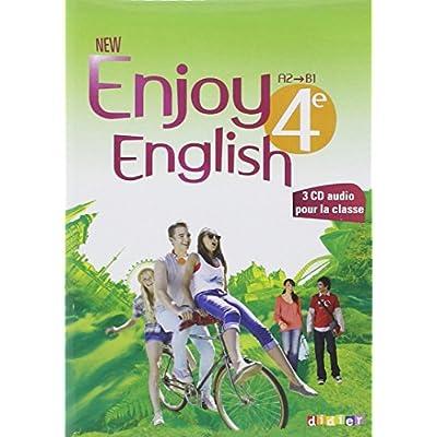 New Enjoy English 4e Coffret Audio Video Classe 3 Cd 1