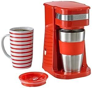 Amazon.de: HOBERG Café-BoXX, Single Kaffeemaschine