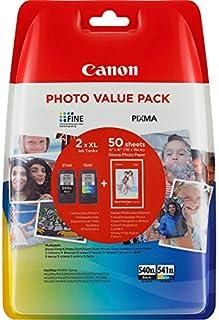 Canon PG-540XL+CL-541XL Cartucho de tinta original BK XL+Tricolor XL para Impresora de Inyeccion de tinta Pixma TS5150,5051-MX375,395,435,455,475,515,525,535-MG2150,2250,3150,3250,3550,3650,4150,4250 (B015OW6AQQ) | Amazon Products