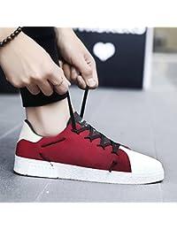 Chaussures homme FEIFEI respirant chaussures en tissu résistant à l'usure chaussures de marée (Couleur : 03, taille : EU43/UK9/CN44)