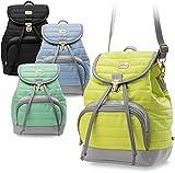 kleiner gesteppter Rucksack Damentasche geräumiger Damen - Rucksack (mint)