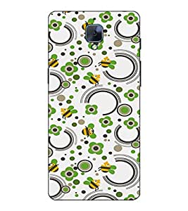 Fuson Designer Back Case Cover for OnePlus 3 :: OnePlus Three :: One Plus 3 (Comic honey bee theme)