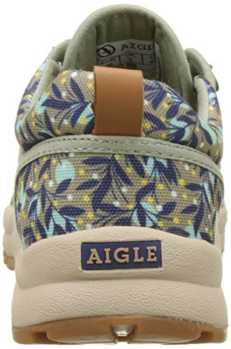 Aigle Damen Tenere Light Low Canvas Trekking-& Wanderhalbschuhe Mehrfarbig (Tenere Light Low Canvas)