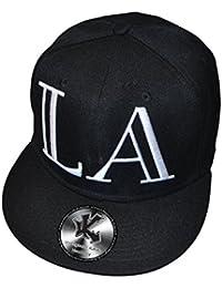 La Los Angeles Lamar Noir Casquette Snapback réglable casquette de baseball Hat