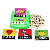 Best RANDOM HOUSE Toddler Dvds - Bestop English Spelling Alphabet Letter Game Machine Kids Review