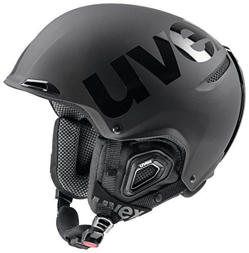 Uvex jakk + Octo + Casco de esquí, Unisex, Color Black...