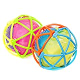 Hamleys Light and Sound Fusion Ball in Open Box, Multi Color (Color May Vary)