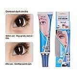 Eye Moisturizer Cream für trockene, empfindliche Haut und feine Linien mit natürlichen Beeren und Beeren. Vorteile für eine jüngere, blau