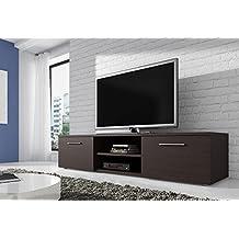 Amazon.fr : meuble tv marron