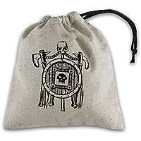 Orc Beige & black Basic Dice Bag