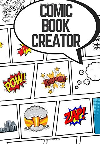 Create Your Own Comic Book: Classic Size Blank Comic Book With 25 Unique Panel Layouts To Create Your Hero's Story Arc. Over 130 Page For Artwork ()