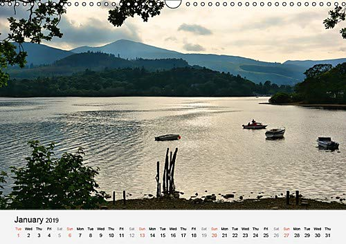 The Lake District in Summer / UK-Version (Wall Calendar 2019 DIN A3 Landscape): Summer impressions from the Lake District in Cumbria (Monthly calendar, 14 pages ) (Calvendo Nature)