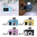 YiFeiCT Mini Cute Reflex TLR - Llavero LED para cámara de Fotos