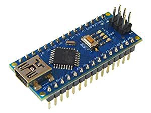 arduino compatible nano with ch340 usb ic. Black Bedroom Furniture Sets. Home Design Ideas