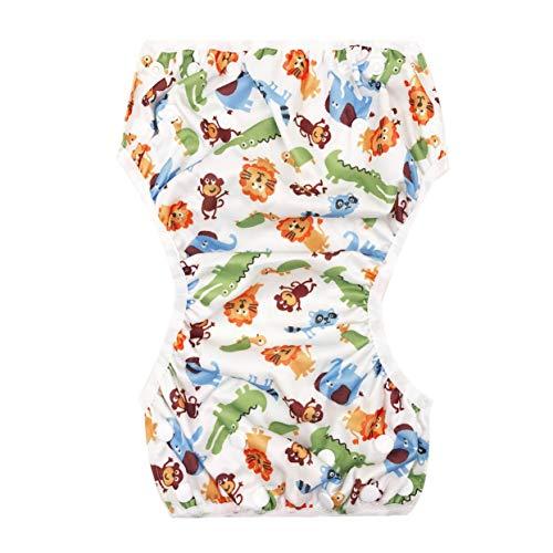 Tree-on-Life Waschbar Baby Unisex Einstellbare Schwimmwindel Pool Hose Wasserdicht Wiederverwendbare Baby Training Schwimmwindel Badeanzug