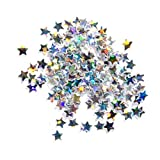 Stargazer Loose Glitter Stars Eyeshadow Makeup Face Body Hair Nails Art Gems Sequins (Spectrum)