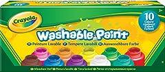 Idea Regalo - Crayola 54-1205 - I Lavabilissimi 10 Tempere