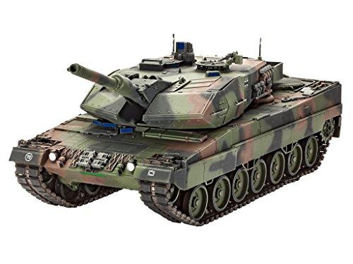 Revell Modellbausatz Panzer 1:35 - LEOPARD 2A5/A5NL im Maßstab 1:35, Level 4, originalgetreue Nachbildung mit vielen Details, 03243