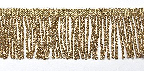 Fransenborte Lurex gold 50 mm von Prym