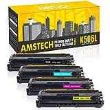 Amstech 4Pack Kompatibel Samsung CLT-K506L CLT-506L CLT-C506L CLT-M506L CLT-Y506L für Samsung CLP-680ND CLP-680DW Samsung CLP 680 680DW CLX-6260 CLX 6260 6260FD 6260FW 6260FR CLX-6260ND Toner Drucker