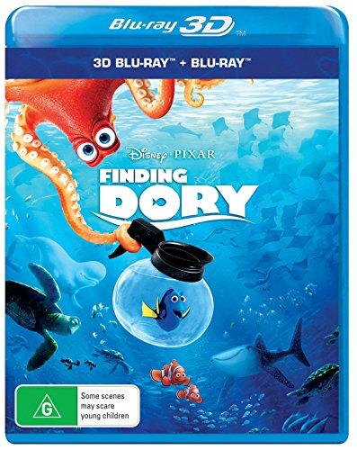 Finding Dory - Le Monde de Dory [3D Blu-ray / Blu-ray]