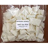 Modern Homes Vegetable (Soy) Wax Flakes for Candle Making - 1 kg (High Grade)